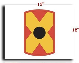 US Army 479th Field Artillery Brigade SSI CANVAS art print framed stretc... - $20.78