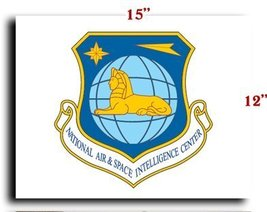 Air Force USAF National Air and Space Intel Center CANVAS art print framed st... - $20.78