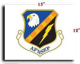 Air Force USAF National Security Emergency Preparedness CANVAS art print fram... - $20.78