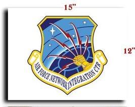 Air Force USAF Network Integration Center CANVAS art print framed stretched 1... - $20.78