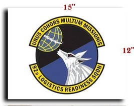 Air Force USAF 92nd Logistics Readiness Squadron CANVAS art print framed... - $20.78