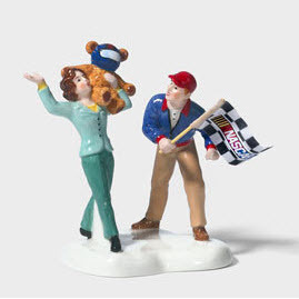 "Primary image for Dept. 56 Nascar ""A Day At the Races"" figurine"