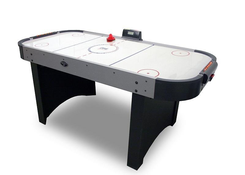 6 Ft Extreme Goal-Flex Air Hockey Game Table