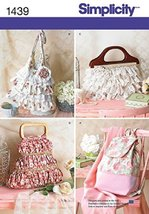 Simplicity Creative Patterns 1439 Bags in Four Different Styles [Misc.] - $2.50