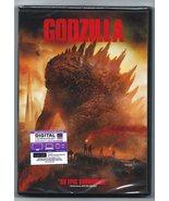 Godzilla (DVD, 2014, SINGLE DISC VERSION) ALTERNATE COVER RARE - $6.99