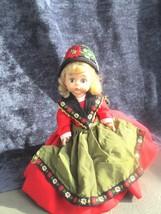 """Vtg Madame Alexander """"Sweden"""" doll from international,6"""" tall, a barefoot beauty - $18.80"""