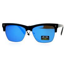New Flat Lens Sunglasses Retro Designer Square Frame Unisex Fashion - $9.95