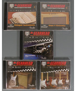 Fender Guitar-Mr. Gearhead Technical Support 5 CD-Roms - $19.95