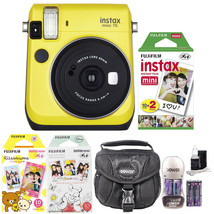 Fujifilm Instax Mini 70 Instant Film Camera (Ye... - $159.97