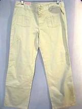Girls' Juniors Circo Beige Fashion Adjustable Waist Stretch Dress Pants Size 14 - $2.97