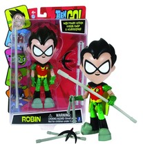 "Teen Titans Go 8"" Robin Action Figure with Power Action Karate Chop NIP - $15.88"