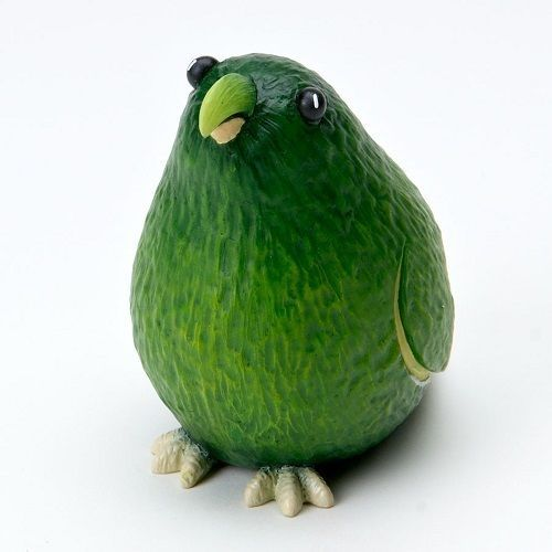 Home Grown  Avocado Parrot   Play with your Food Sculpted Figurine