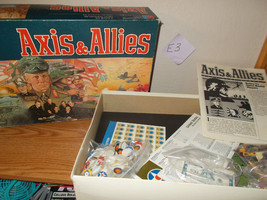 Axis & Allies Board Game of High Adventure - $39.99