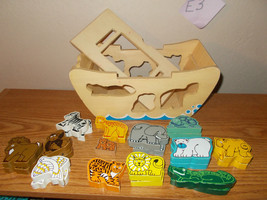 melissa and doug  Noah's Ark wooden puzzle - $12.99