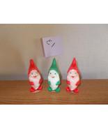Vintage Christmas Elf Candles - $9.99