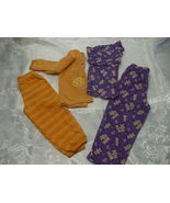 Lot of 2 Girls Pyjamas Size 3 & 3T - $12.99