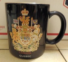 Canada Quebec Coffee Mup Cup Ceramic - $9.50