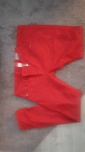 NWT DIESEL Darron Red Regular Slim Tapered Buttonfly Jeans 30 x 32 - $128.69