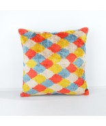 Velvet silk ıkat pillows colorful ikat pillow silk cushion - $85.00