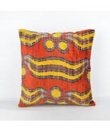 16x16 Ikat cushion Decorative ıkat cusihon  pillow ikat silk pillow 16x1... - $75.00