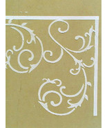 Stencil, Stencils, Plaster Stencil Wrought Iron Wall Stencil, Decorative... - $22.99