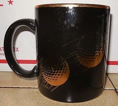 His And Hers Golf Coffee Mup Cup Set Ceramic - $14.03