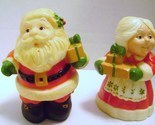 Hallmark Santa & Mrs. Clause Salt & Pepper Shakers