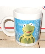 Kermit the Frog Coffee Mup Cup Muppets Jim Henson Ceramic - $9.50