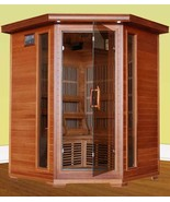 Hudson Bay Ultra 3 Person Carbon Infrared Home Sauna - $2,088.00