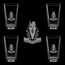 Us Army 139th Field Artillery Regiment Dui 4 Glass Set - $34.64