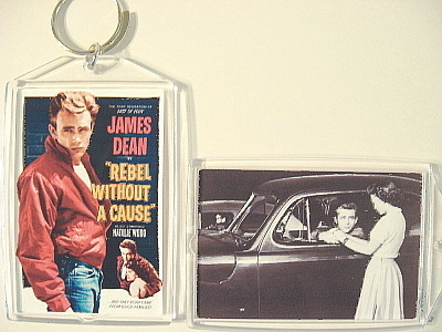 Rebel without a cause key chain to post