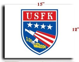 """US Army Forces Korea CANVAS art print framed stretched 15""""x12"""" [Kitchen] - $20.78"""