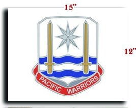 US Army Special Troops Battalion United States Army Pacific DUI CANVAS art pr... - $20.78