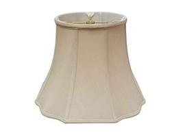 "Royal Designs Flare Bottom Corner Scallop Lamp Shade, Beige, 5"" x 10"" x 8"" - $44.95"