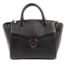 Black ONE SIZE Michael Kors Womens Handbag VANNA 35T7GV3S3L BLACK - $268.14