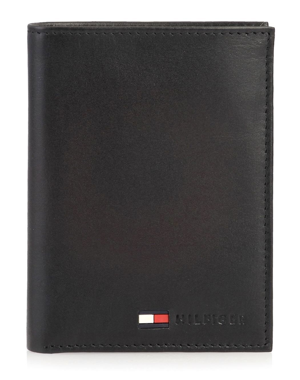 New Tommy Hilfiger Men's Credit Card ID Organizer Big Leather Wallet 31TL19X021