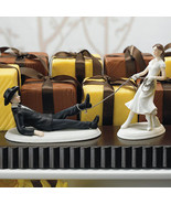 Western Lasso Bride and Groom Cake Topper Set - $55.00