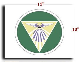 Air Force USAF AAF 5th AF 22nd BG 408th Bomb Squadron SSI CANVAS art pri... - $20.78