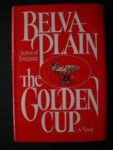 GOLDEN CUP -- BARGAIN BOOK [Hardcover] belva plain - $3.99