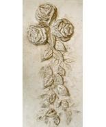 Mold, Cabbage Rose Set Plaster Mold, Concrete Mold - $14.99