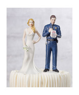 Love Citation Policeman Groom Cake Topper - $30.95