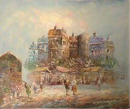French Market by Unknown Artist - $400.00