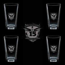 Marines Usmc 15th Marine Combat Logistics Regiment Ssi 4 Glass Set - $34.64