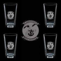 Marines Usmc 15th Marine Expeditionary Unit Ssi 4 Glass Set - $34.64