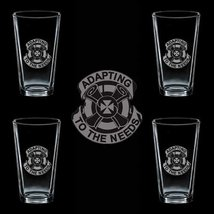 Us Army 110th Replacement Battalion Dui 4 Glass Set - $34.64