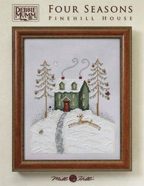 Primary image for Pinehill House Four Seasons cross stitch chart Debbie Mumm Mill Hill