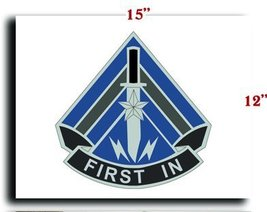 US Army Special Troops Battalion 2 Brigade 4Infantry Division DUI CANVAS art ... - $20.78
