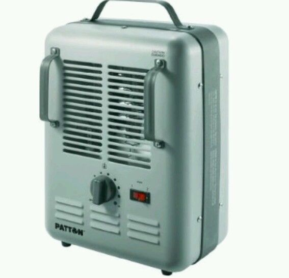 heater garage basement workshop power comfort control new portable