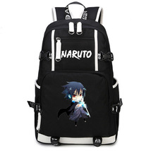 Naruto Theme Fighting Anime Series Backpack Schoolbag Daypack Mini Sasuke - $36.99