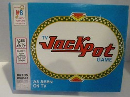 TV Jack Pot Game Milton Bradley Vintage 1974 Complete New Solve Riddles - $16.69